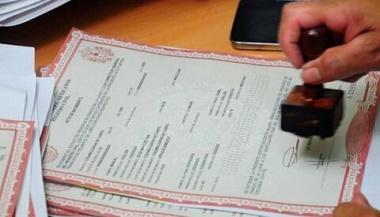 Certificado de nacimiento