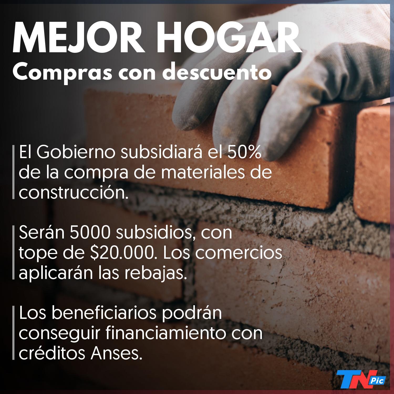 Cómo funcionará la mejor casa, el plan oficial para obtener materiales de construcción a mitad de precio 大 TN