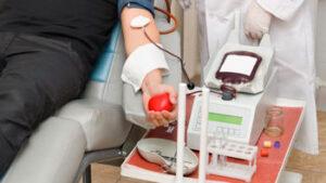 Se produce para donar sangre