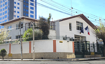 Embajada de Francia en Bolivia