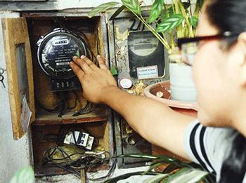 Información importante para instalar un medidor de luz