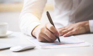 Cómo completar el formulario de registro RUC NR