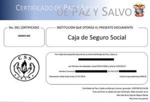 Comisiones certificadas de seguridad social certificadas