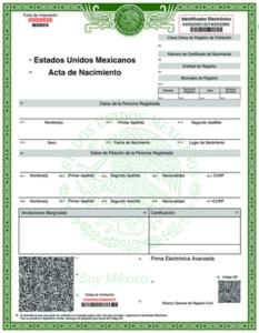 cómo conocer los detalles de mi certificado de nacimiento de introducción
