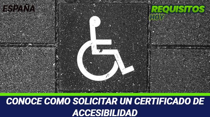 Certificado de Accesibilidad
