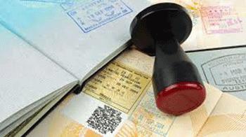 En caso de fecha de visa
