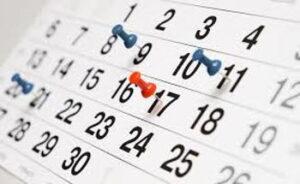 ¿Cuáles son las semanas que NR ha mencionado semanas?