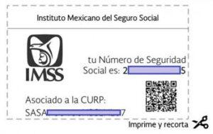 ¿Cuál es el número de seguro social?