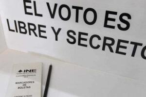 Requisitos para una votación