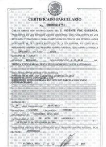 Finalización del certificado del paquete