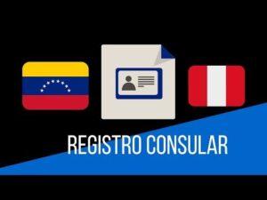 Descubra cómo obtener un formulario de registro consular venezolano en Perú