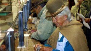 Ingresos de dignidad en Bolivia