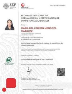 Conozca la introducción del certificado