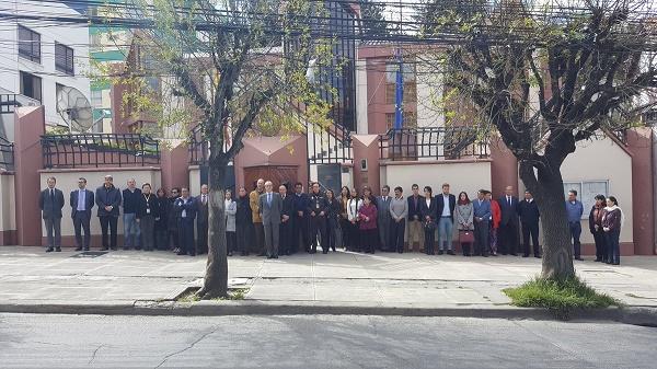 Nombramiento en la embajada española en Bolivia