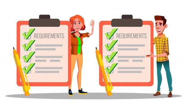 Requisitos para Rejap