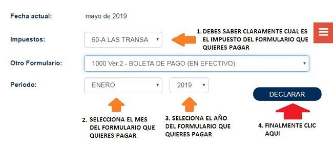 Calculadora de impuestos de Bolivia
