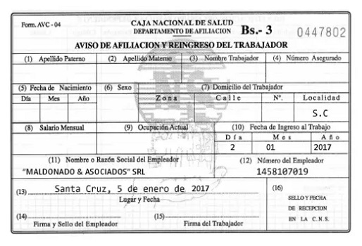 Avc-04 Módulo PDF2 del Fondo Nacional de Salud