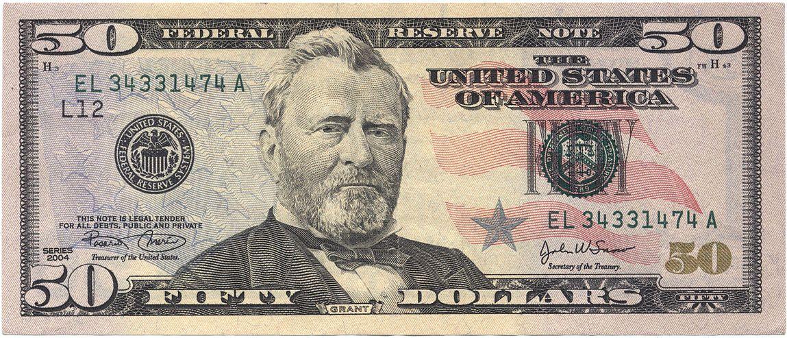 $ 50 bill - Wikipedia, la enciclopedia libre