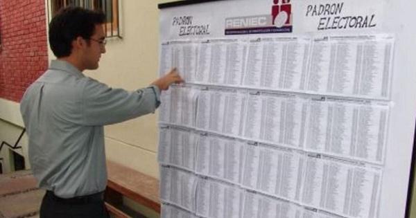 Requisitos electorales en Bolivia