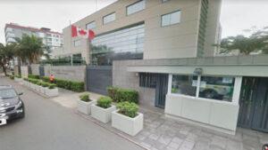 Embajada canadiense en Bolivia