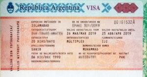 Necesito una visa para viajar a Argentina