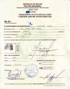 FELCC finalización del certificado básico