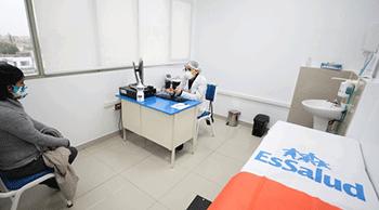 Solicitar una modificación del centro de salud EsSalud