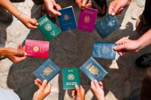 En el caso de un matrimonio civil de una pareja extranjera NR
