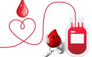 Inserte para donar sangre NR