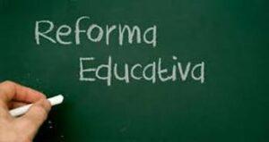 Reforma educativa para ser profesor