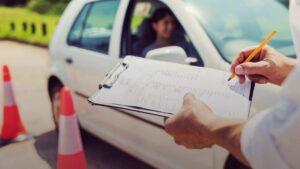Examen de la licencia de entrenamiento